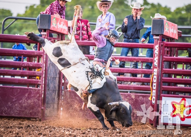 A rodeo event