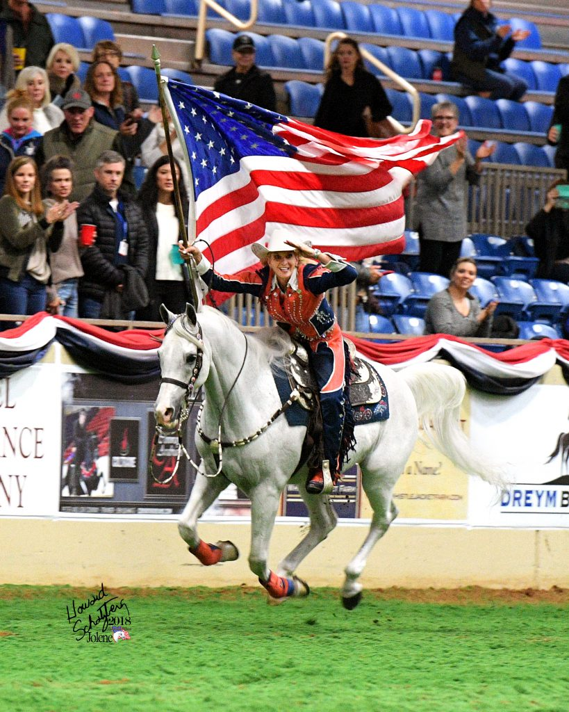 Ann Judge and Thunder at the US Nationals