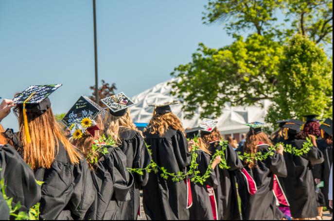 Graduates at William Woods University