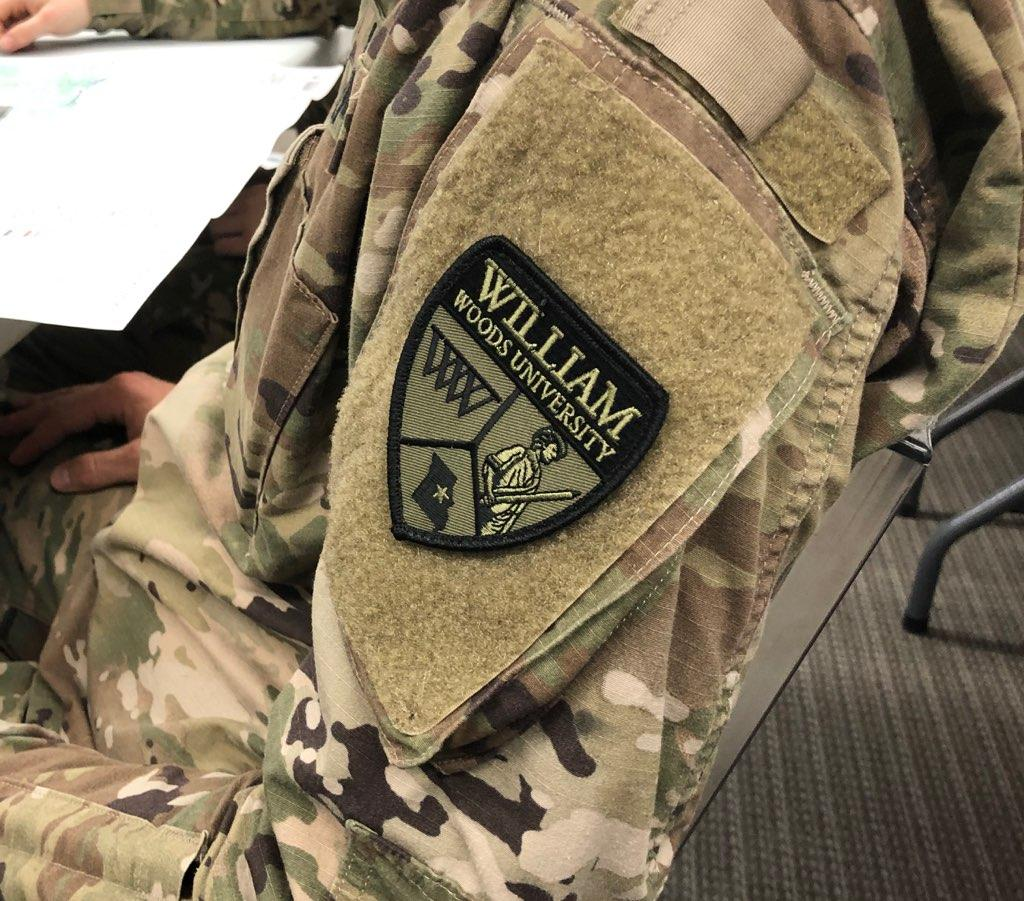 Photo of Show-Me Gold patch on uniform