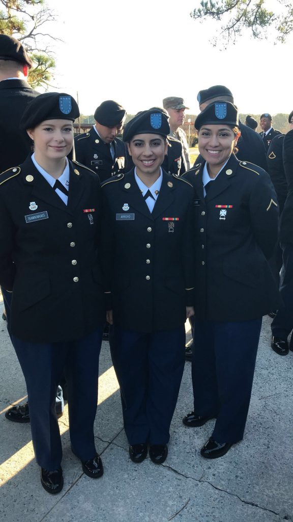 Shannon Bamvakais at AIT graduation
