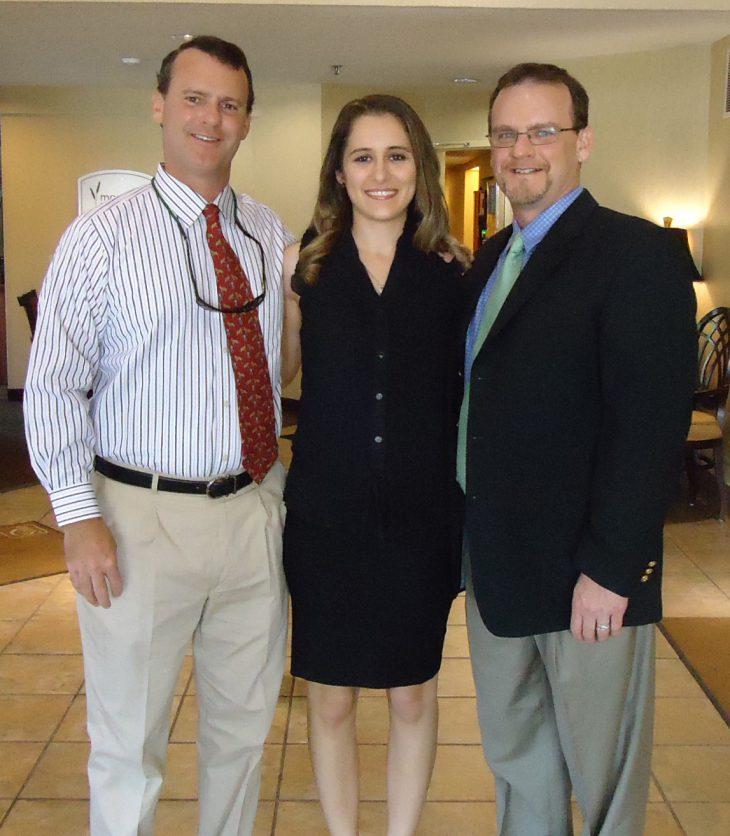 Allie with Saddle & Bridle publishers Chris and Jeff Thompson