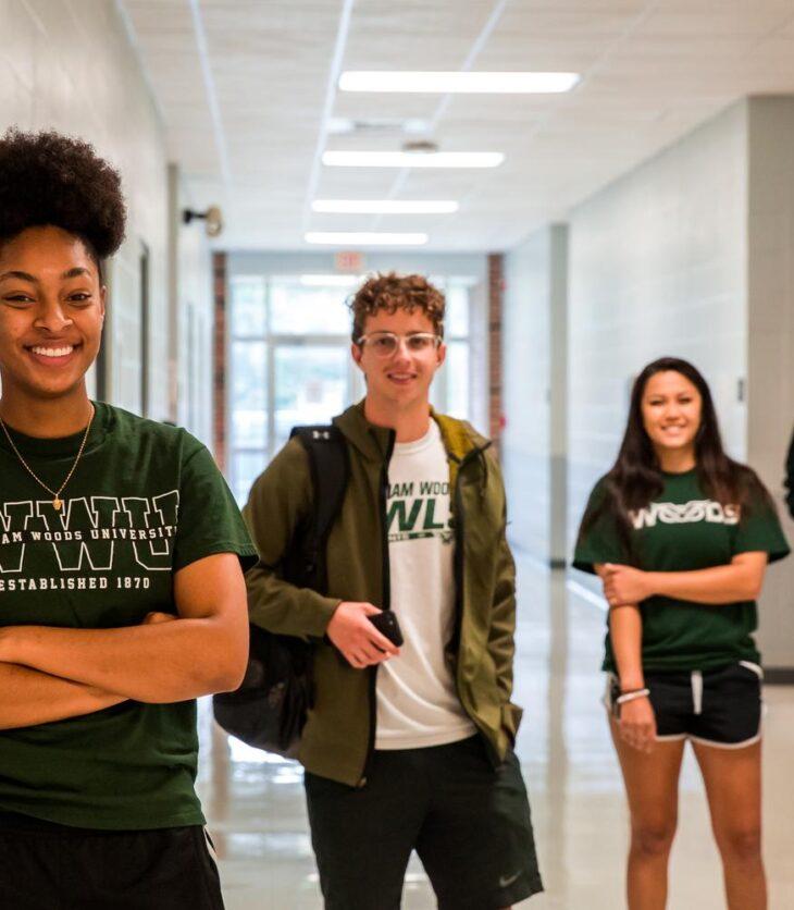William Woods University students