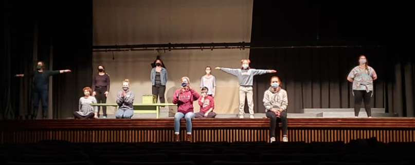 theatre production rehearsal