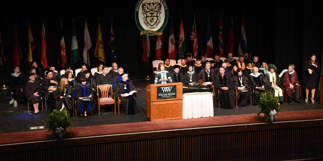William Woods University Commencement COVID-19