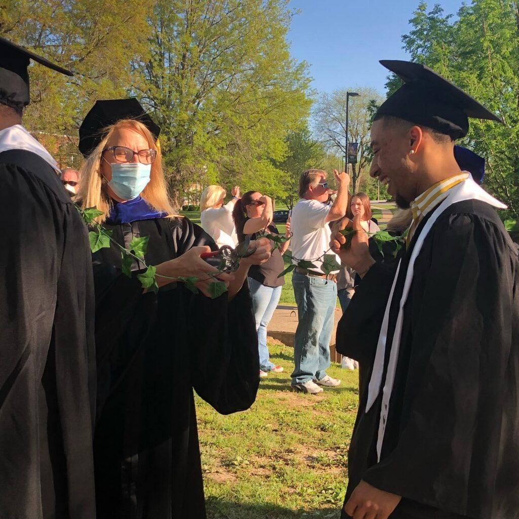 William Woods University Ivy Ceremony