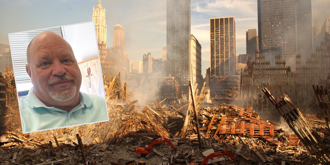 George Garner ground zero