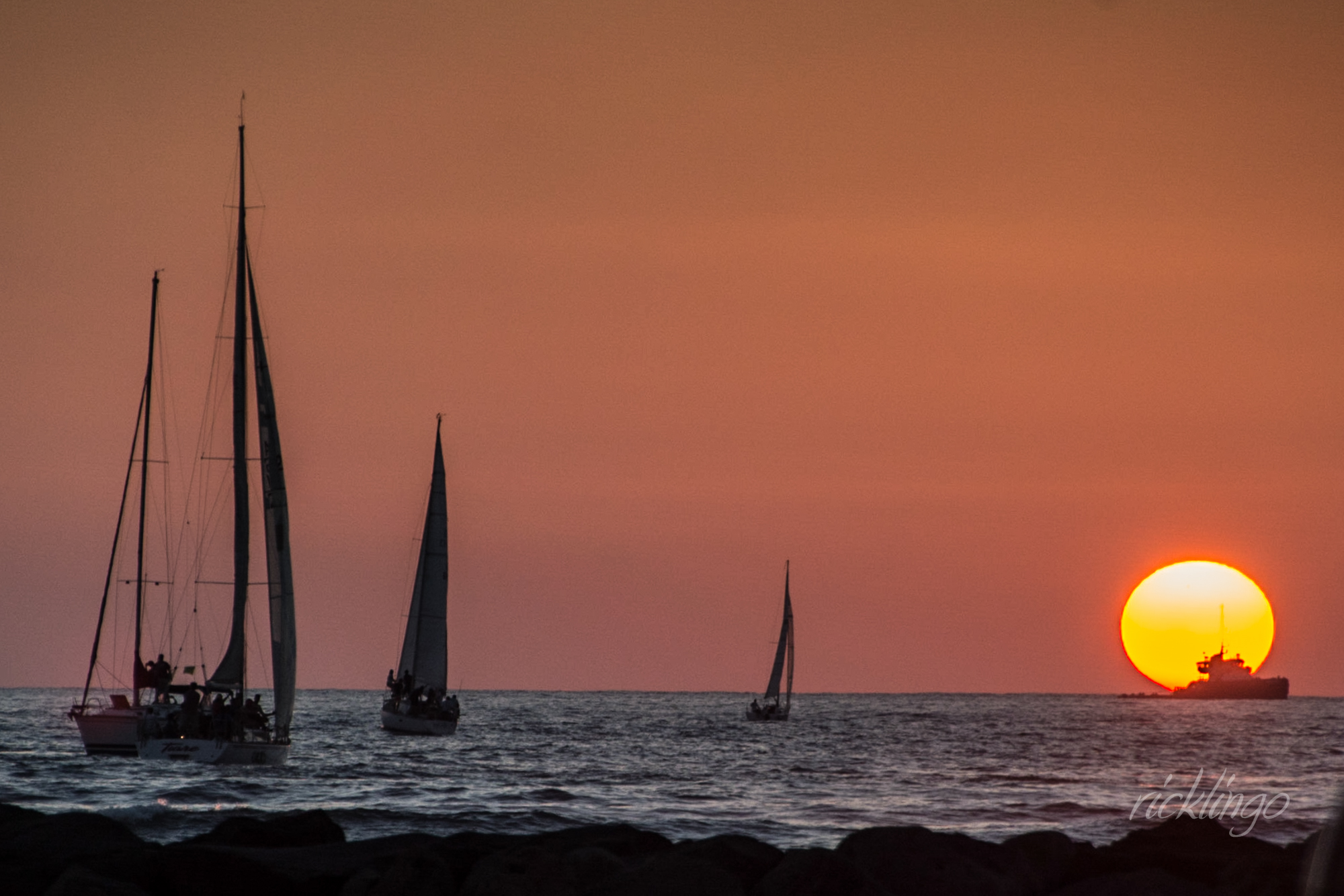 Racing toward the Sun