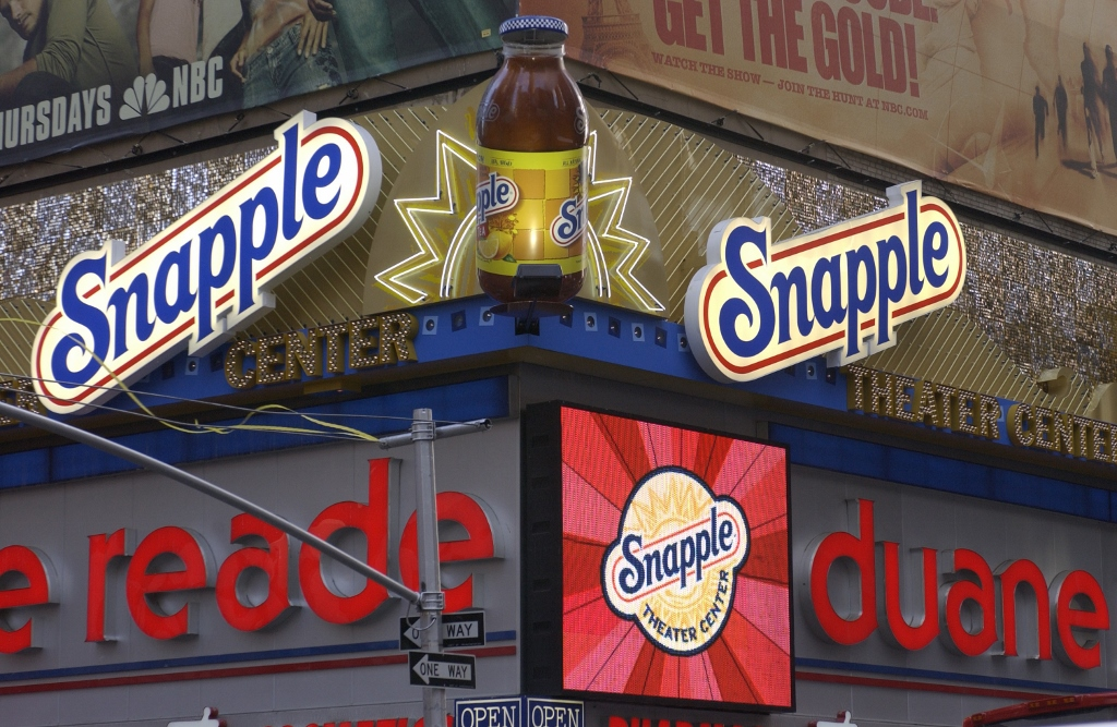 Snapple Theater, Broadway, Times Square