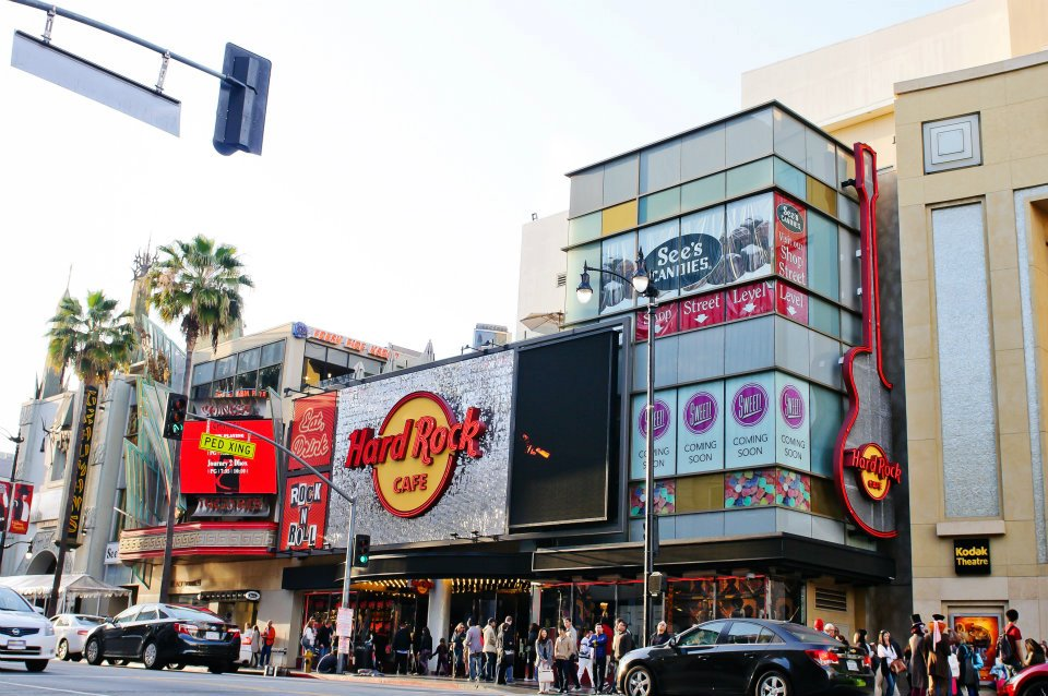 Hard Rock Cafe Los Angeles SolaRay Sign 7