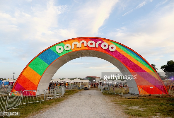 performs onstage at XXX Stage during Day 4 of the 2015 Bonnaroo Music And Arts Festival on June 14, 2015 in Manchester, Tennessee.