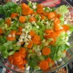 Green Salad, Easy Focaccia, and Garden Pasta