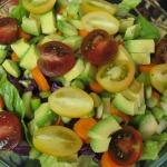 Romaine Salad and John's Quick Jambalaya