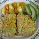 Open-Face Crab Sandwiches