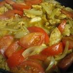 Fajita-Style Chicken Burritos, Mexican Rice, and Strawberry Shortcake