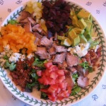 Steak Cobb Salad with Honey Pepper Vinaigrette