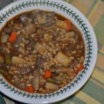Beef, Barley, and Vegetable Soup