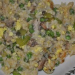 Pork Fried Rice and Old-fashioned Date Bars