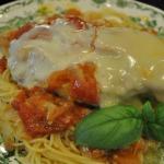 Chicken Pizzaiola over Spaghettini
