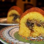 Super Simple Orange Streusel Bundt Cake
