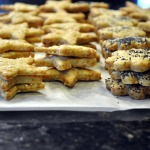 Chris' Provencal Garlic-Herb Cheese Spread and Parmesan Cheese Crackers