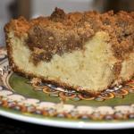 Baked Sunday Mornings ~ Substitute ~ New York-style Crumb Cake