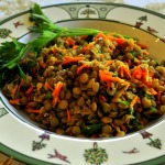 Classic Lentil Salad ~ French Fridays with Dorie