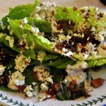 Stacked Salad with Blue Cheese and Bacon