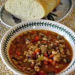 California-style Pork and Bean Soup