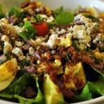 Steak Cobb Salad with Blackberry Lime Vinaigrette