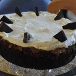Mississippi Mud Pie (B), aka Muddy Mississippi Cake ~ Baked Sunday Mornings