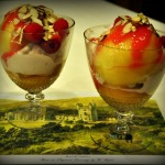 Peach Melba with Raspberry-Cassis Ice Cream ~ French Fridays with Dorie
