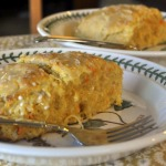 Carrot Coconut Scones with Citrus Glaze ~ Baked Sunday Mornings Make-up