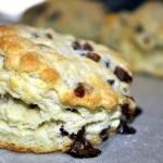 Cream Tea Scones with Strawberry Jammy Bits ~ King Arthur Flour