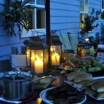 We Hosted a Neighborhood Barbecue ~ Black Bean & Corn Salsa