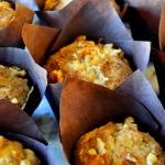 King Arthur Flour: Cinnamon Apple Muffins with Walnuts