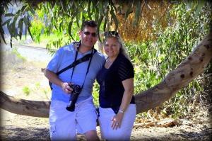 My brother & his wife in Carpinteria, California.