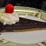 Baked Sunday Mornings: Simple Chocolate Whiskey Tart with Whiskey Whipped Cream