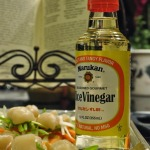 Marukan Rice Vinegar: Scallops en Papillote over Fettuccine