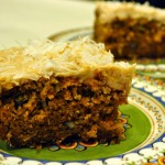 Baked Sunday Mornings: Classic Carrot Cake with Cinnamon Cream Cheese Frosting