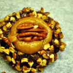Baked Sunday Mornings: Turtle Thumbprint Cookies