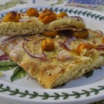 Pizza Rustica with Sun Gold Tomatoes