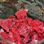 Pomegranate Rose Granita