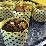Baked Sunday Mornings: Chocolate Cheesecake Muffins
