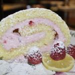 Baked Sunday Mornings: Light & Lemony Jelly Roll with Raspberry Cream Filling