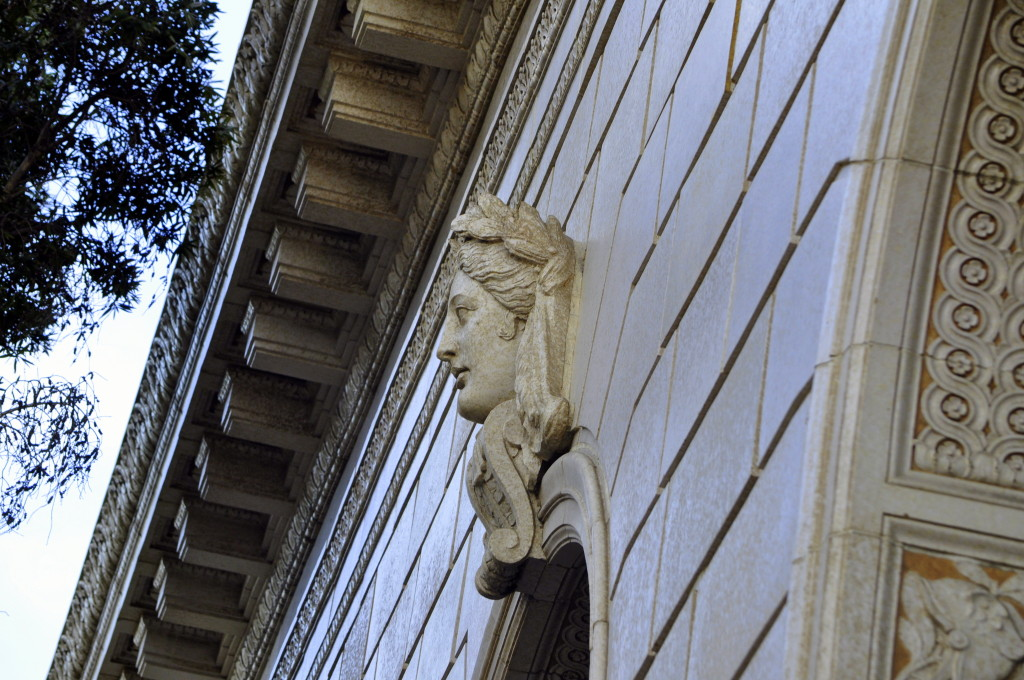 Architectural detail, Ventura, California