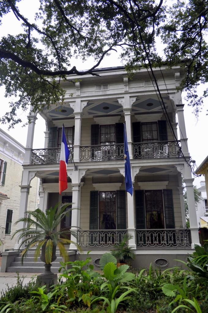 Degas House, New Orleans