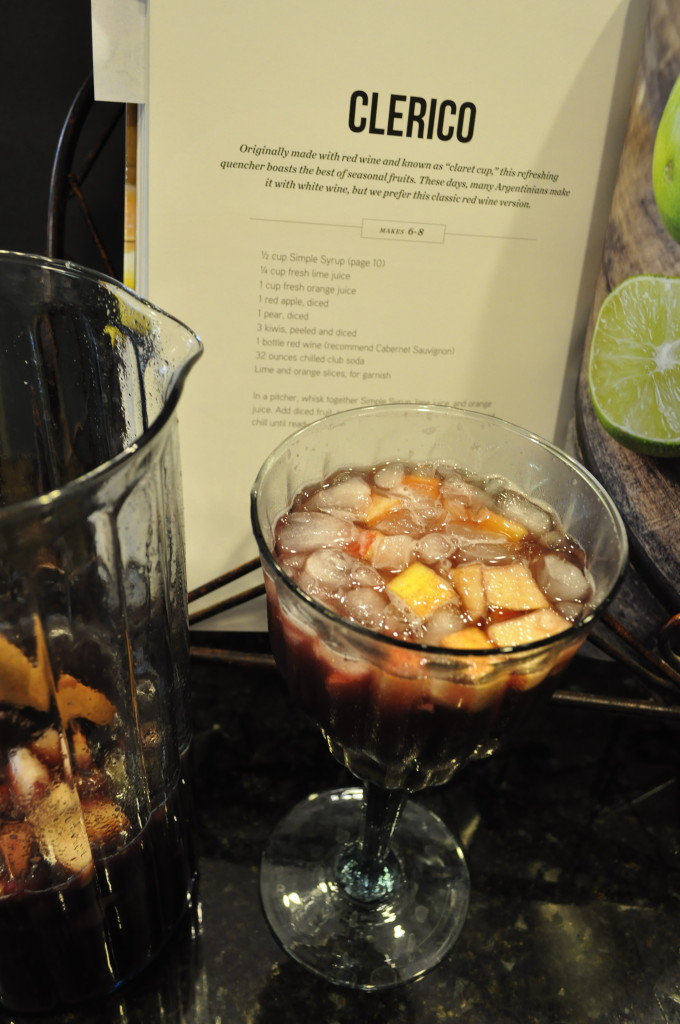 You can also just add club soda to the glasses as you serve the Clerico.