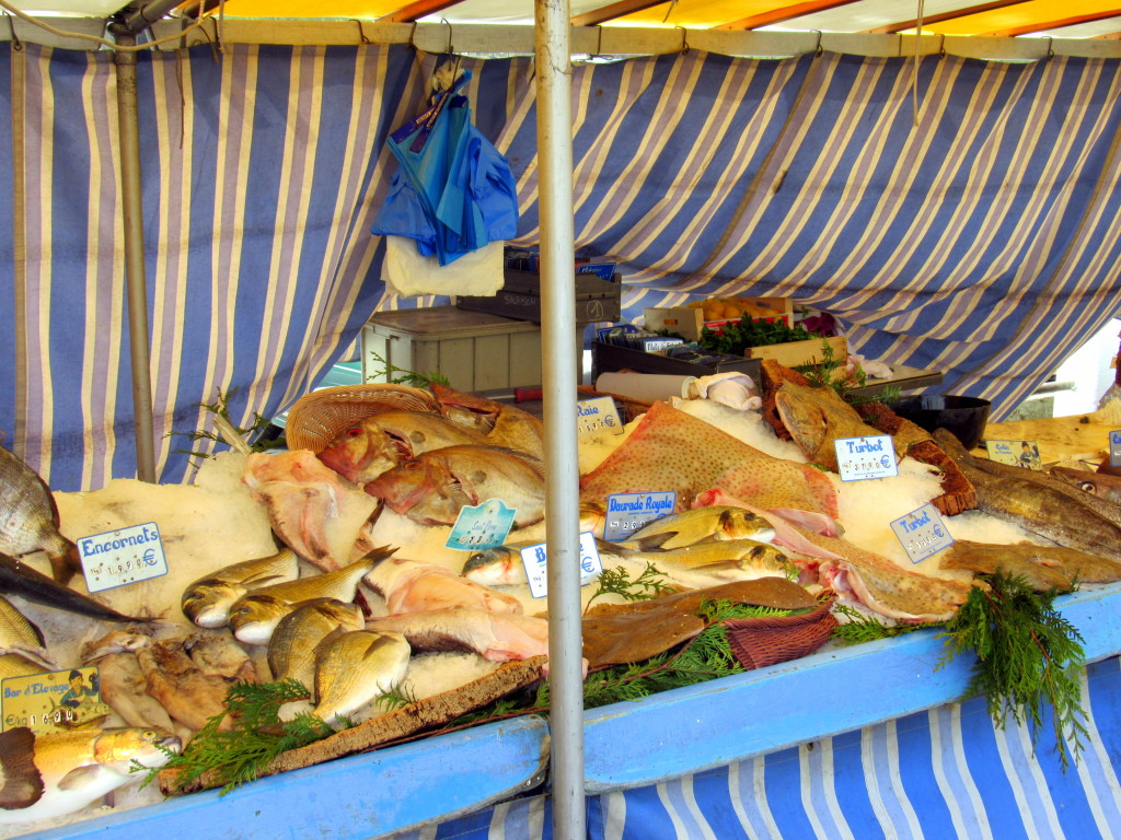 Fresh Fish Market, Conflans-Sainte Honorine, France
