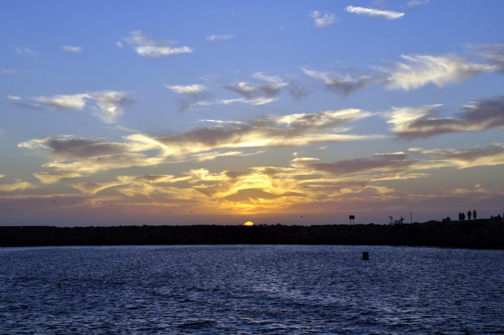 Sunset from Ventura Harbor